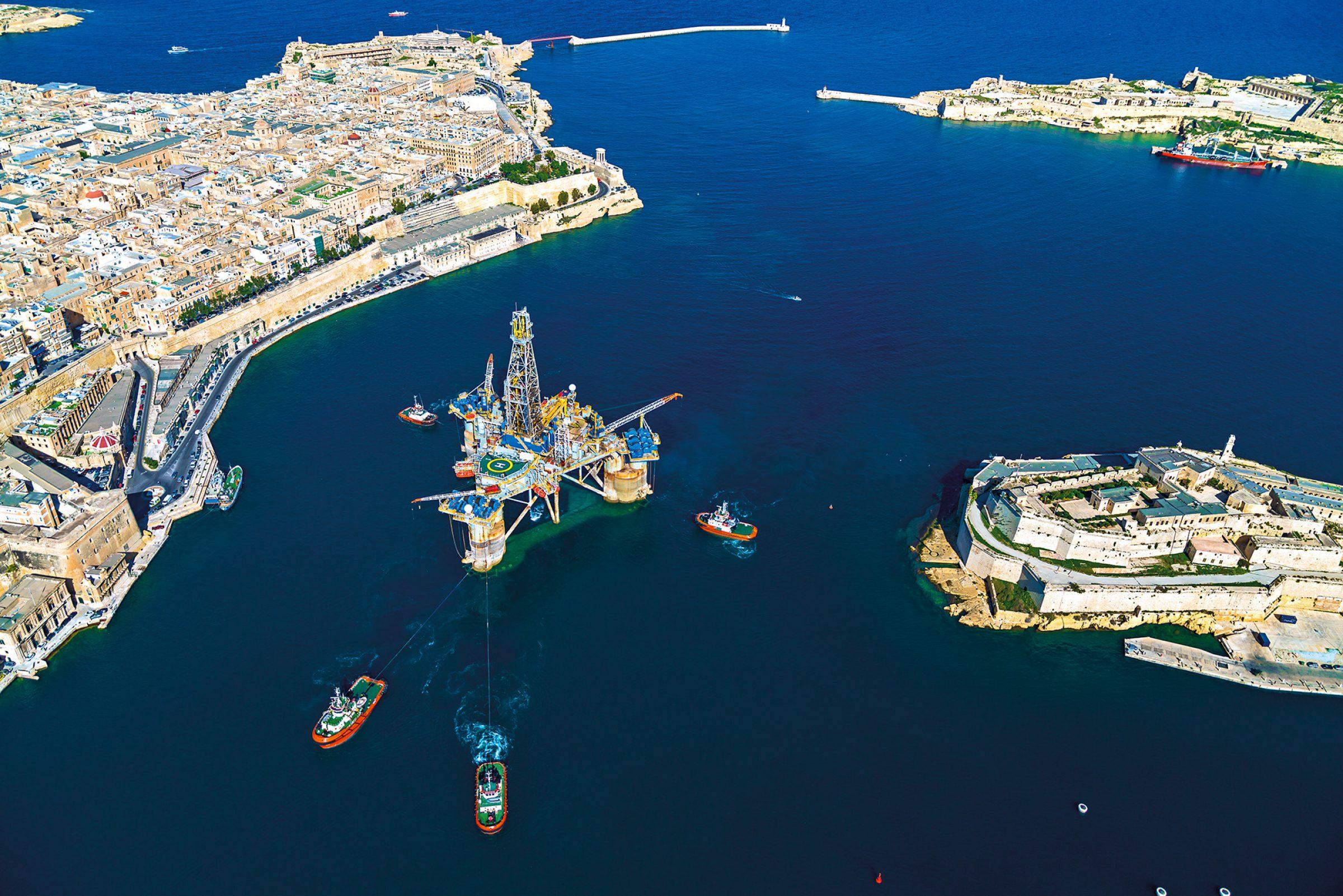 Valletta Harbour Malta Well Management for Genel Energy
